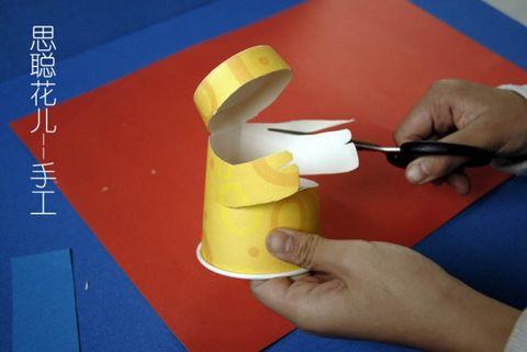 纸杯创意手工图片,纸杯创意儿童手工作品