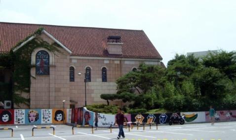 韩国世宗大学的建筑 - 非文 - 非文的博客