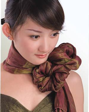 各种丝巾的打结方法 - 虞美人 - 虞美人