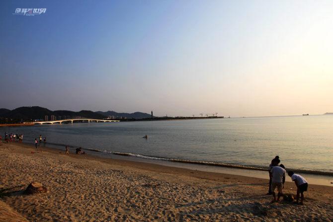 我在三亚拍夕阳…… - 刚峰先生 - 天涯横呤