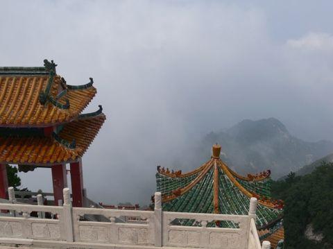 九月二日雾中登长安南五台山 - xianhxqcm - 终南天下秀