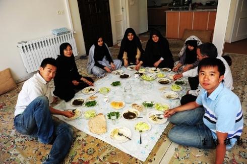 伊朗,那些风花雪月的日子--蹭饭 - Y哥。尘缘 - 心的漂泊-Y哥37国行
