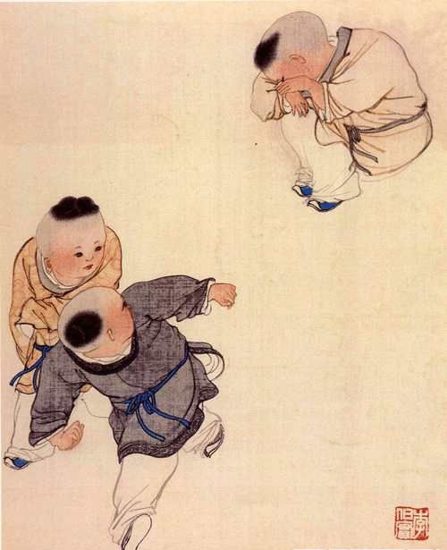 【转载】浪漫童年 - 木一侠 - 善忍者为王