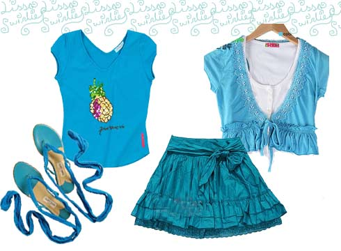服装:典雅淑女装 夏日装扮法则