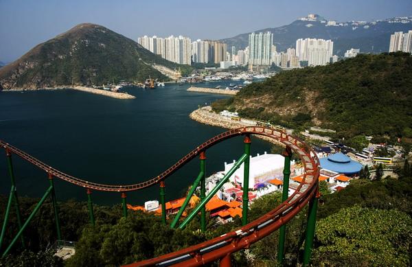[原]香港第三天·海洋公园 - Tarzan - 走过大地