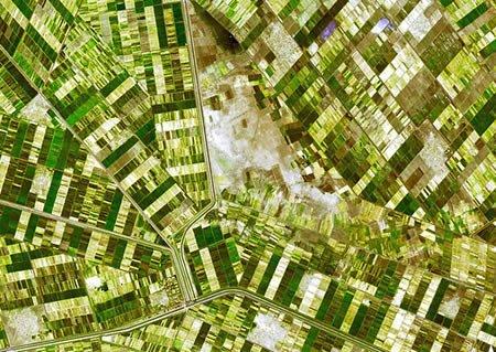 【图文】从太空俯视地球:二十幅最为壮观的地形图 - 秋夢園主☆秋 - ☆秋夢園☆