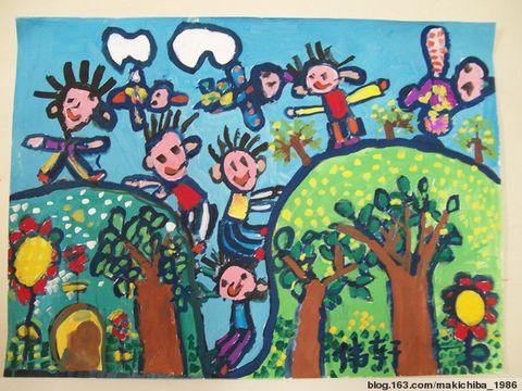 幼儿水粉画参赛作品