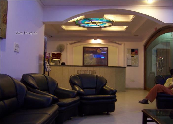 在印度:飞熊下蹋的这家宾馆居然大堂有WIFI - 天外飞熊 - 天外飞熊