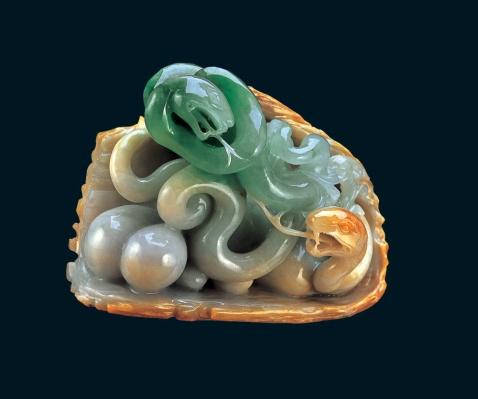 国宝古玩玉【翡翠精品】 - 老排长 - 老排长(6660409)