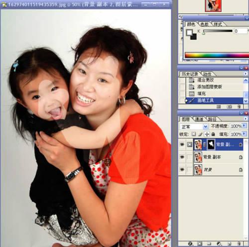 利用Photoshop蒙板轻松简单抠头发 - 玫瑰夫人 -
