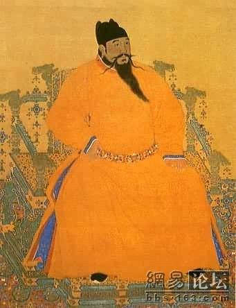大明王朝历代皇帝细解图片