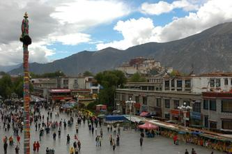 西藏风景(世界文化遗产布达拉宫--7) 2007年10月21日