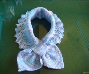 宝宝围巾及护耳帽(转) - 梅兰竹菊 - 梅兰竹菊的博客