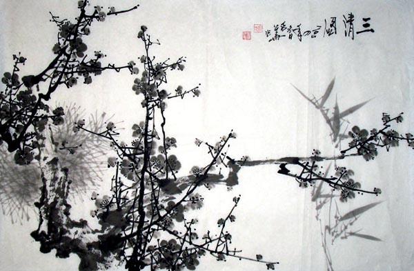 国画欣赏 - 赣西之子(曾  锋) - 赣西之子(曾 锋):作词谱曲寻歌手唱新歌
