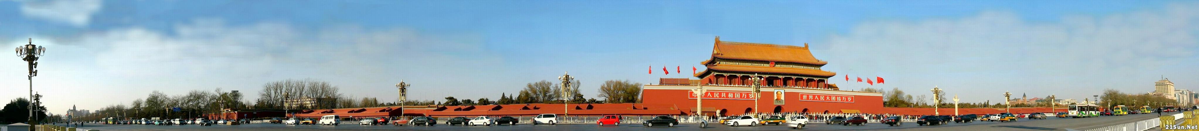 天安门(长安街)全景 - 长城 - 长城的博客http://jsxhscc.