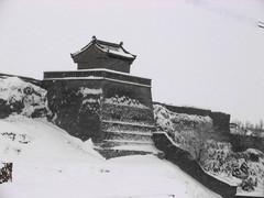 [原创]瑞雪中的上苏庄古堡 - 石岭秋云 - 石岭秋云的摄影博客