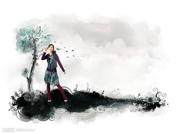 可以做博客顶栏的清晰图片(适合女士) - 紫雨轻寒 - 紫雨轻寒