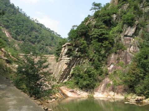 三井潭瀑布(新昌的瀑布之十三) - 江村一老头 - 江村一老头的茅草屋