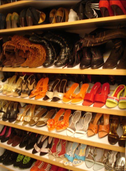 我人生当中的第一双高跟鞋 - 金巧巧 - 金巧巧的博客