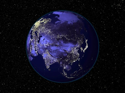 [看图不说话]一系列地图 - 2可器 - 2可器的电线杆:世界的另一面