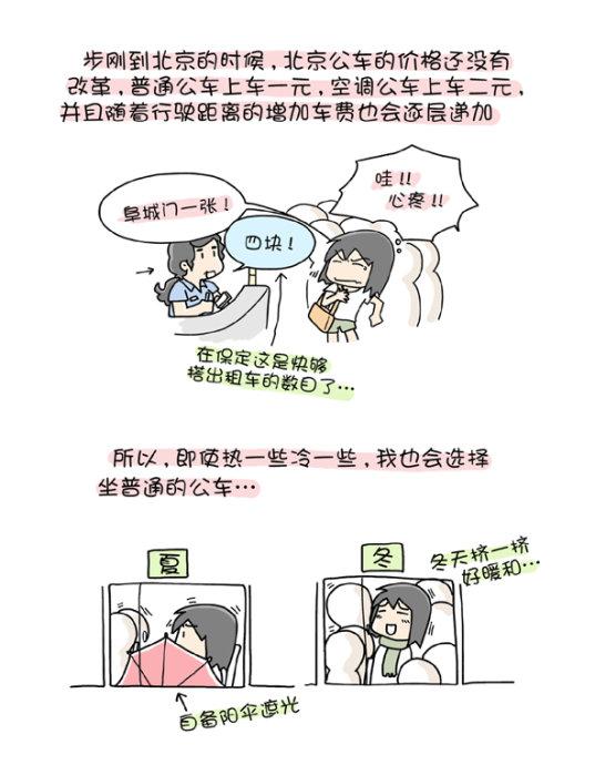 两个人的北京(五、六) - 小步 - 小步漫画日记