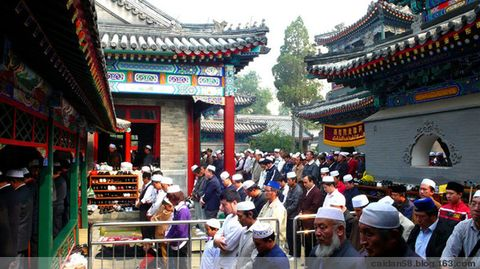 【原创】牛街穆斯林欢度开斋节 - caidan58 - 摄影师陆岩的博客