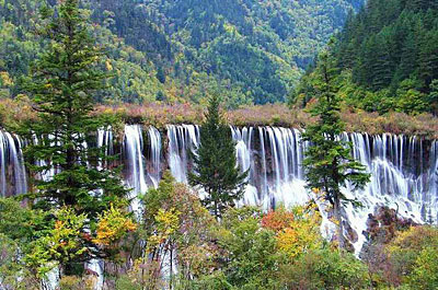 中国最美的十大瀑布 - 一代玩童 - 一代玩童