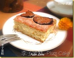 李子蛋糕--Plum Cake