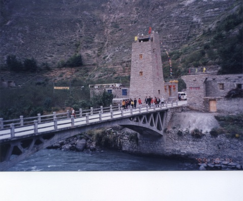 羌寨风 古碉情(2)(原创) - 右岸左人 - 烟雨行囊:右岸左人的部落客