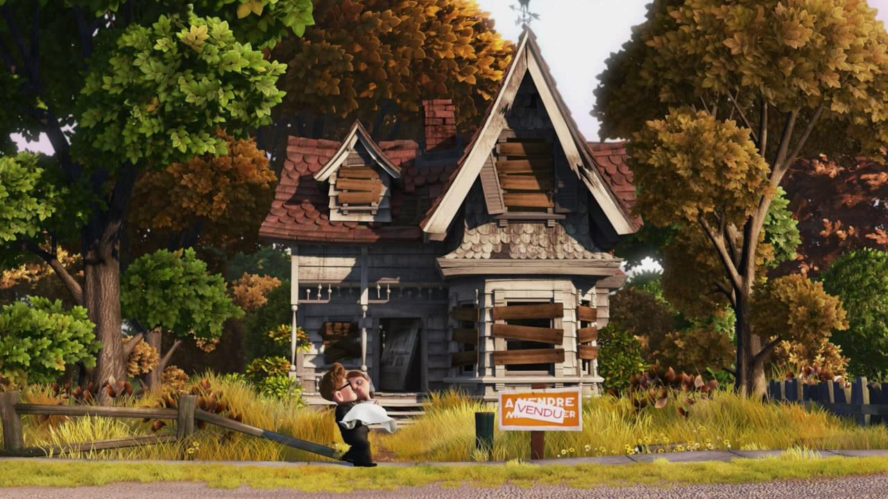 《飞屋环游记》 - 福人的老婆 - 福人之家