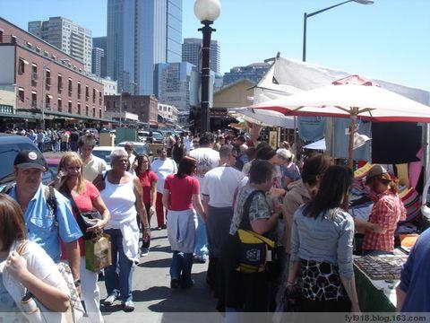 到西雅图观光(4):派克地市场 - 阳光月光 - 阳光月光