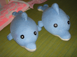 织的玩偶----海豚 - 停留 - 停留编织博客