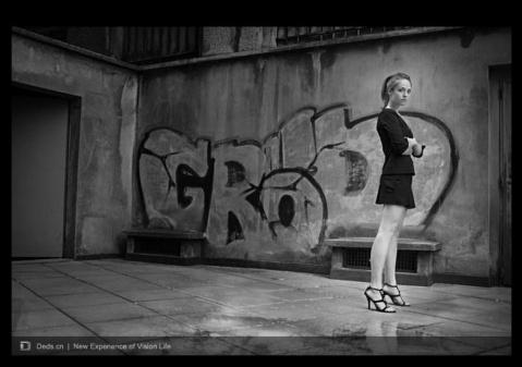 摄影师Jean-Sebastien Monzani人物摄影作品赏 - 五线空间 - 五线空间陶瓷家饰