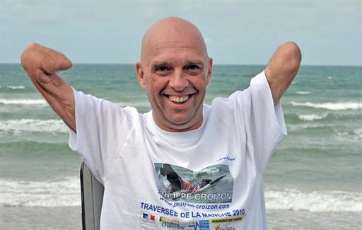 生命的奇迹!无四肢男子横渡英吉利海峡(组图) - 刻薄嘴 - 刻薄嘴的网易博客:看世界