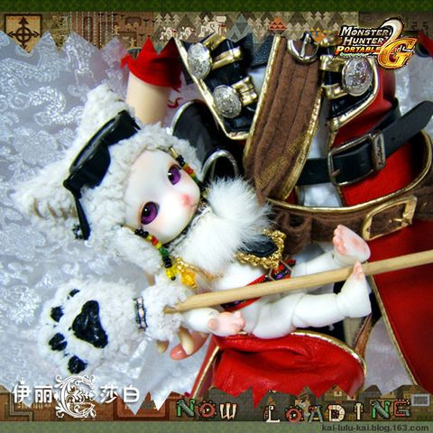 《怪物猎人》带猫出征之海盗J~展示(有图) - GABRIELLU - 加百列~我的天使