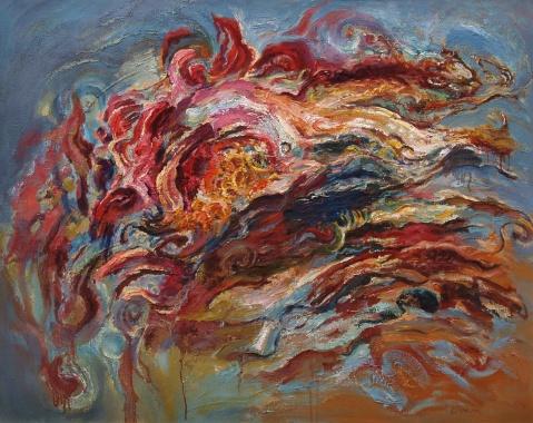 在色彩中浪漫--评画家梁明明 - 应歧的油画风景 - 应歧的油画风景