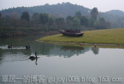版画系教工与亲属的首次自驾游之二:浙北初冬景象 - 好好阳光 - 辜居一的博客