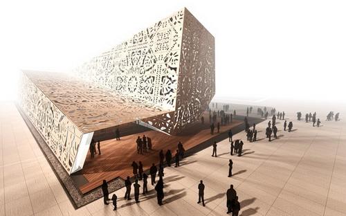 绝对视觉震撼世博会波兰国家馆
