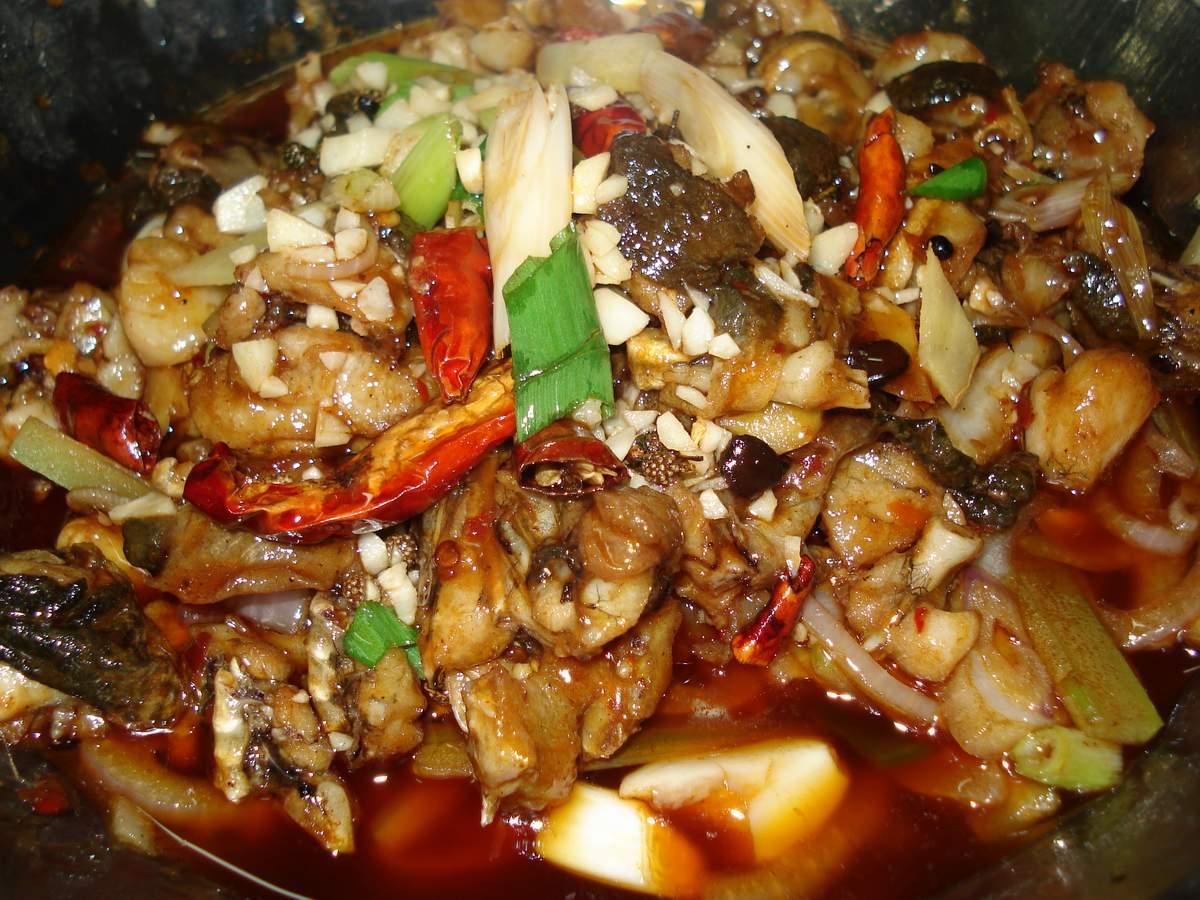 干锅的做法 - 寒如深雪 - 寒 雪 斋