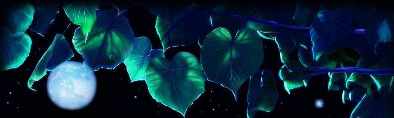 紫藤下的明月 (散文诗)原创 - 欧阳欣悦 - 欧阳欣悦的博客