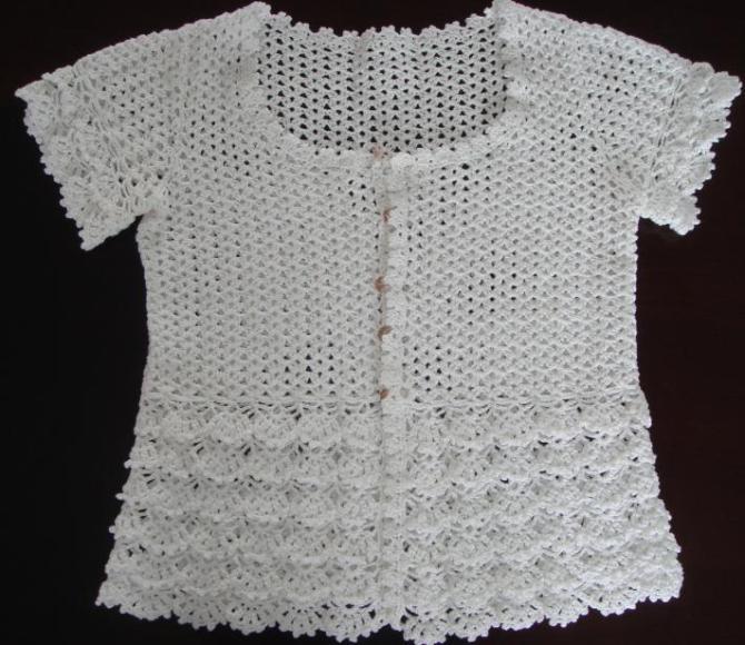 白色钩衫 - 浮萍 - 浮萍的博客