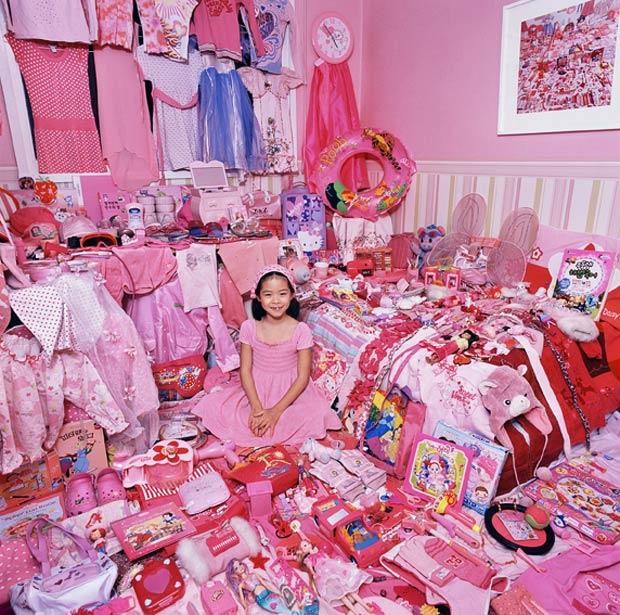 粉色与蓝色,孩子们的奇妙色彩世界(组图) - 刻薄嘴 - 刻薄嘴的网易博客:看世界