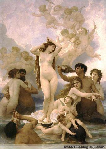 一组精美的西洋油画 - 理睬 - .