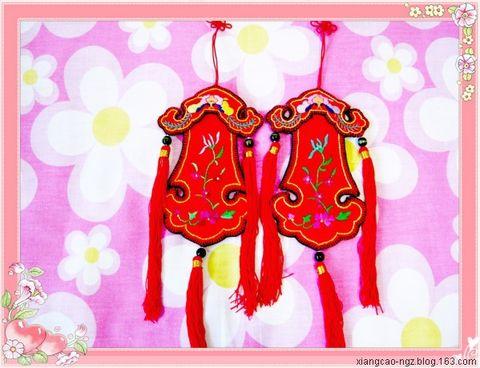 [原创]    绣荷包 ( 一 )  -         香草 - 香草的艺术小屋