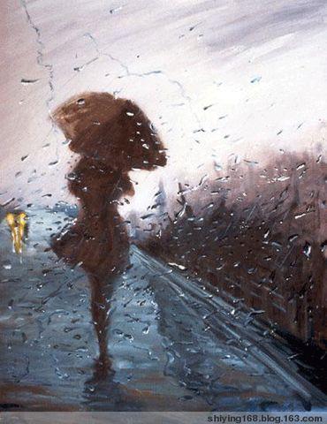 七绝  多情雨 - 幽梦影 - 幽梦影
