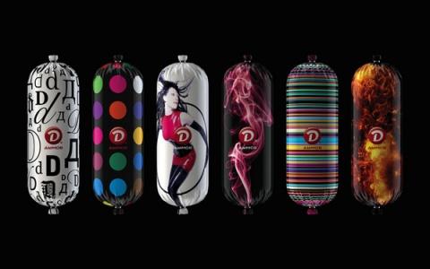 俄罗斯设计师FIRMAb包装设计作品 - 「客露羽」 - 「FANKIE LIU FENG」