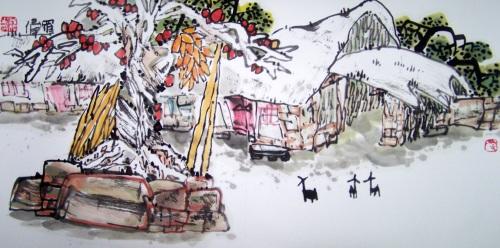 [原创国画]乡村记忆系列(三十五)书画家罗伟2008/05/04书画家罗伟--新浪博客 - 书画家罗伟 - 书画家罗伟的博客