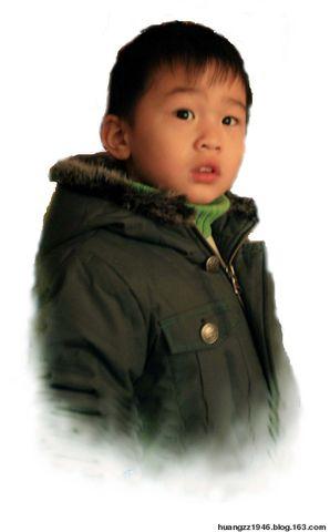【原创】两个小外孙(摄影作品)(2008年3月22日) - 吴山狗崽 - 吴山狗崽 欢迎你