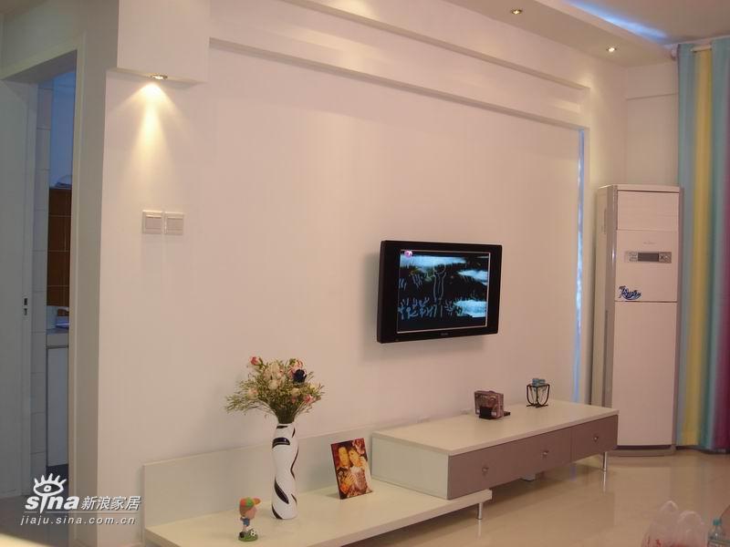 2010新款客厅影视墙装修效果图大全_色彩空间
