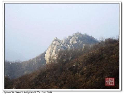 白石峪东岭历险 - 枫林晚 - 六然居